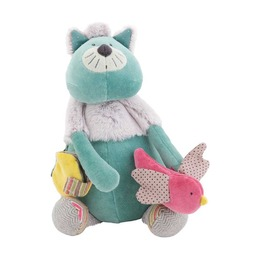 Многофункциональная мягкая игрушка Котик