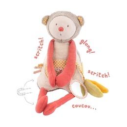 Многофункциональная мягкая игрушка Обезьянка