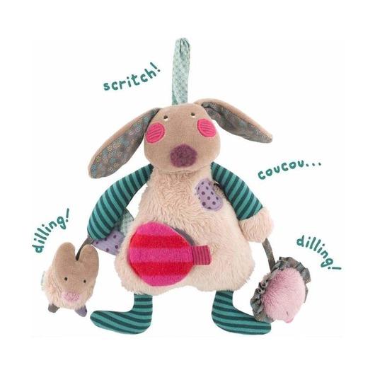 Многофункциональная мягкая игрушка Кролик