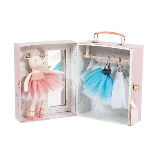 Гардероб балерины в чемоданчике