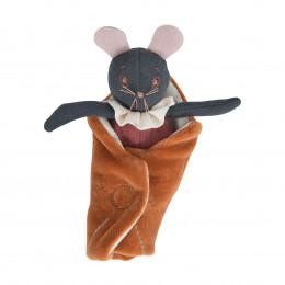 Маленькая мышка, серая