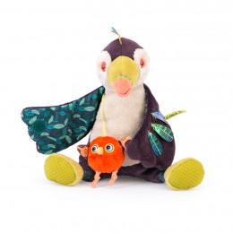Мягкая игрушка-активити Тукан