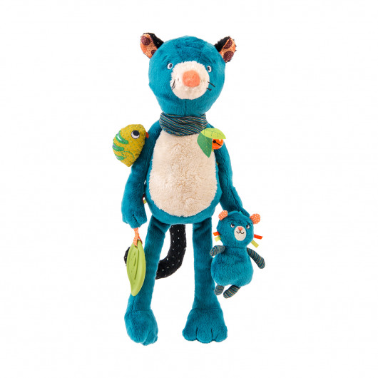 Мягкая игрушка-активити Пантера