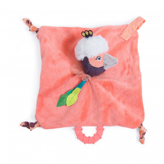Игрушка-комфортер Фламинго